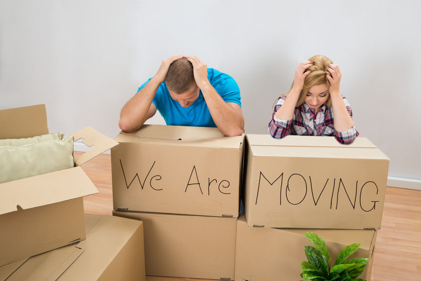cost of moving house