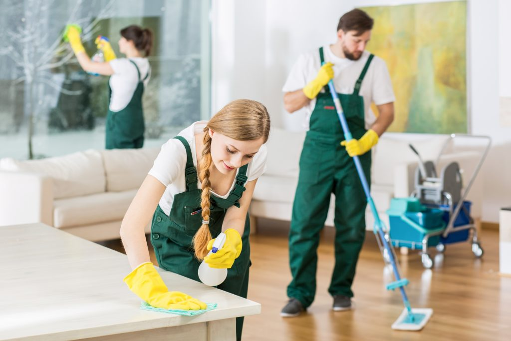 hire house cleaners