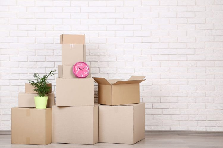 time-saving tips when moving home