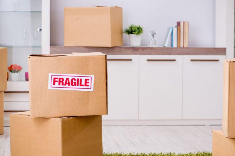 box label fragile