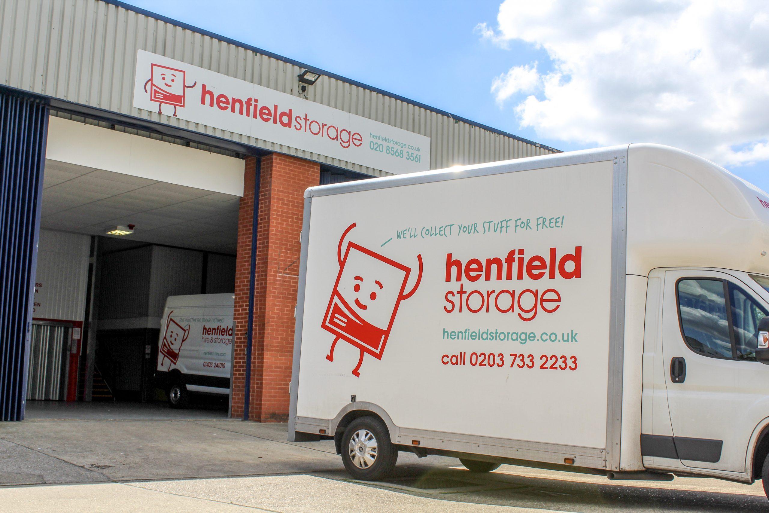 Henfield Storage - Chiswick a storage company in Shield Drive, Brentford, UK