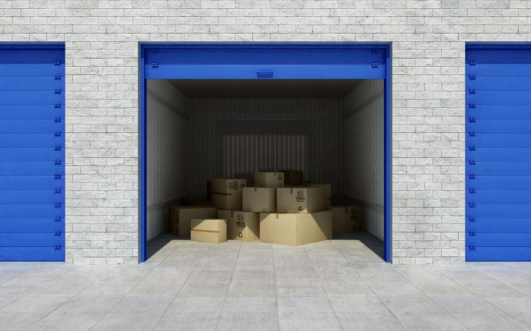 storage unit size