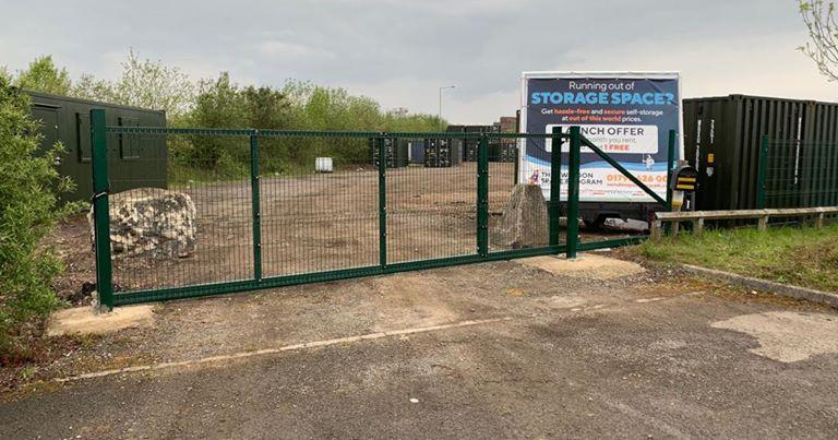 The Swindon Space Program a storage company in The Space Program Barnfield Road, Swindon, UK