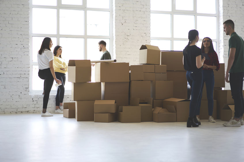Office Teams Moving
