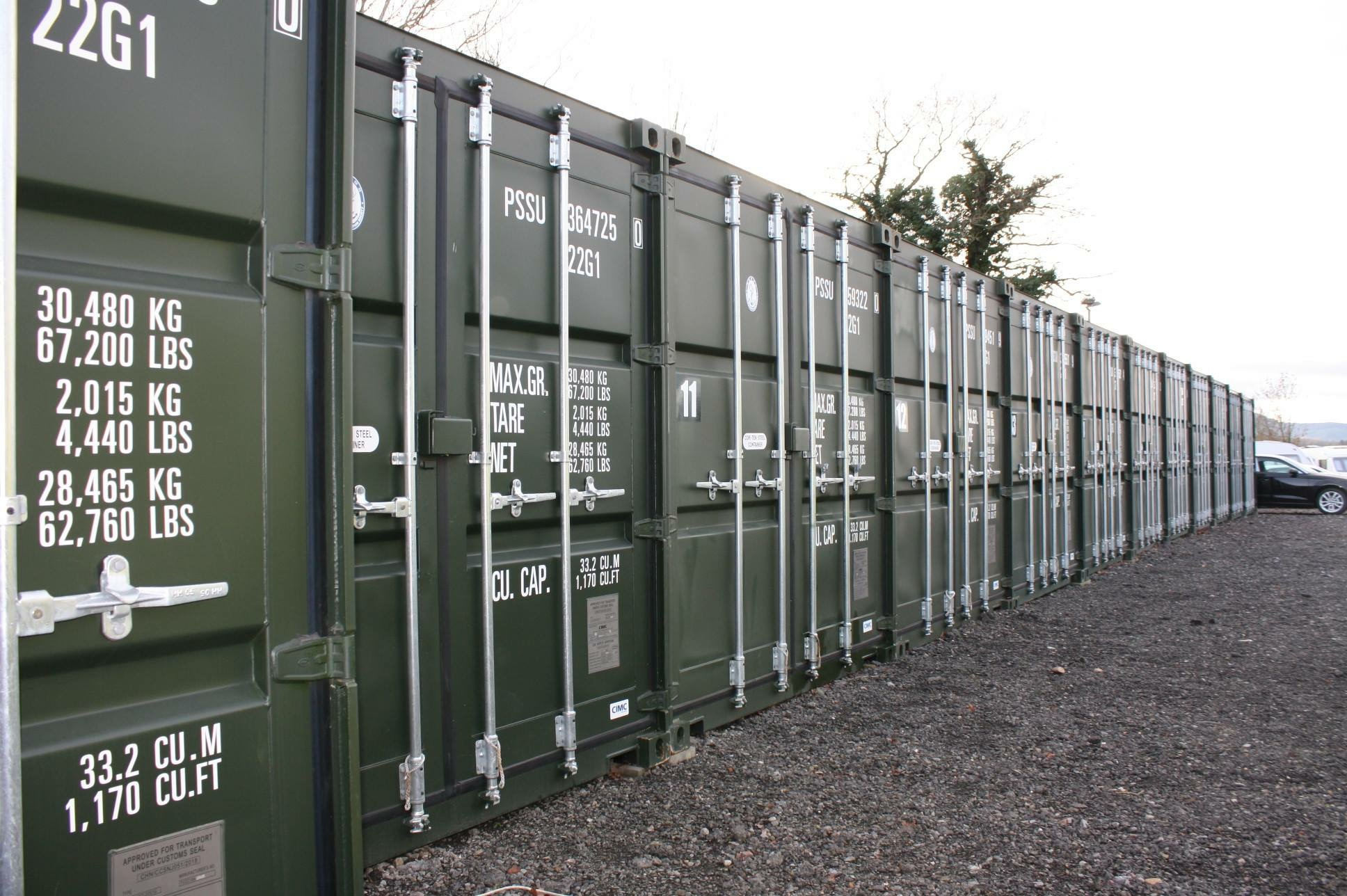Self Storage Worcester a storage company in Lightwood Lane, Worcester, UK
