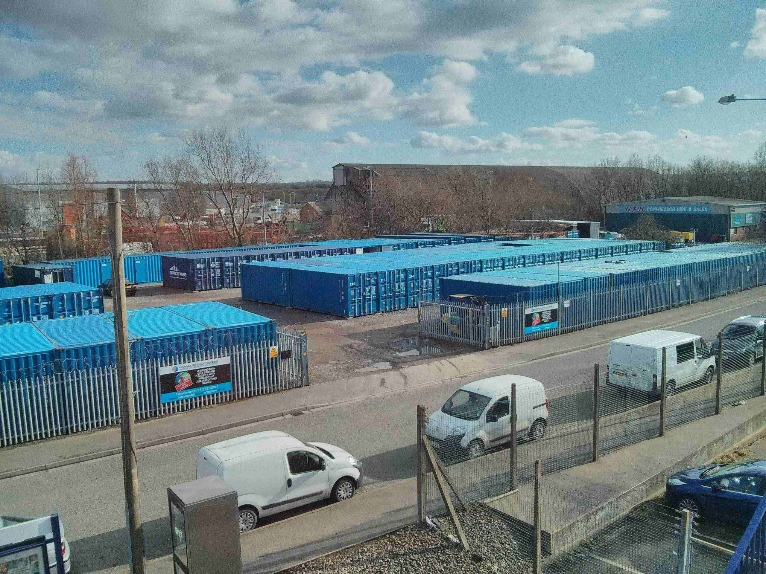 The Avonmouth Space Program a storage company in St George's Industrial Estate, Avonmouth, Bristol, UK