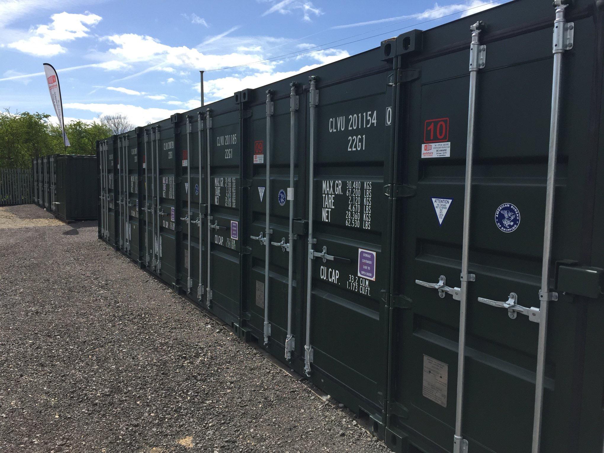 PadStore Self Storage - Sleaford a storage company in Royal Oak Bridge, East Road, Lincolnshire, Sleaford, UK