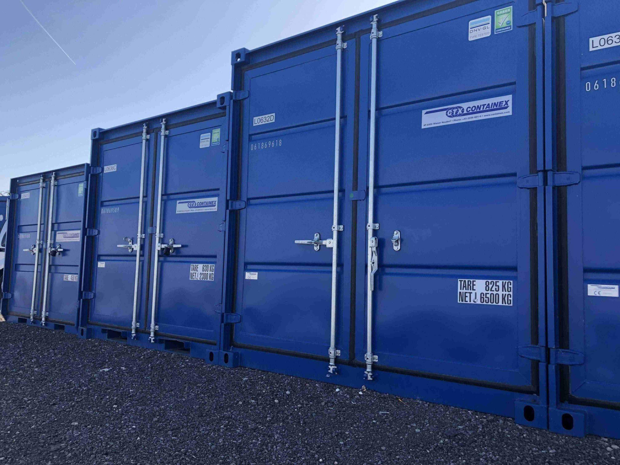 blue self storage a storage company in Wentloog Avenue, Rumney, UK