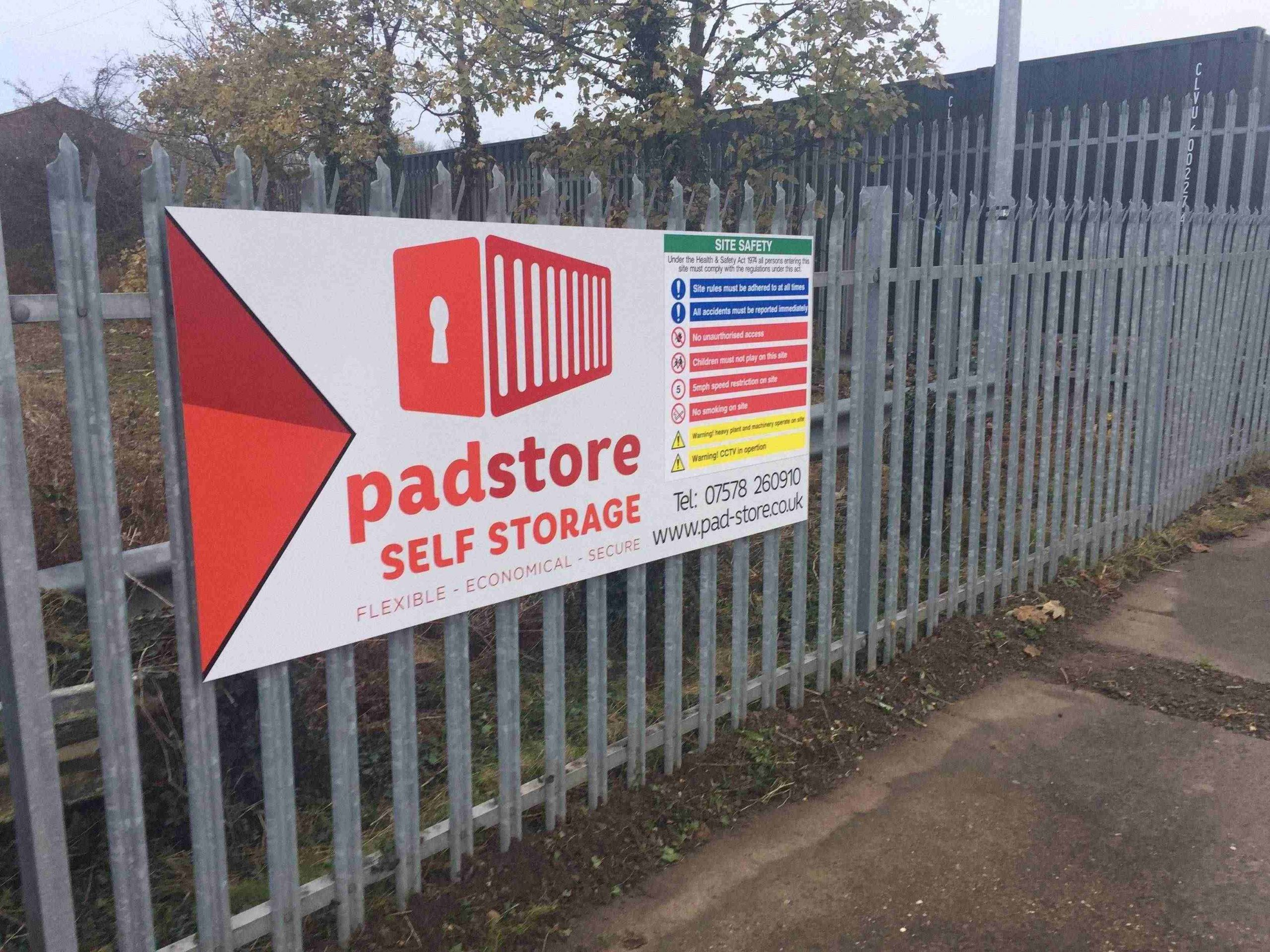 PadStore Self Storage - Grantham a storage company in The Haulage Yard, A1/a52 Sip Road, Nr Barrowby, Grantham, UK