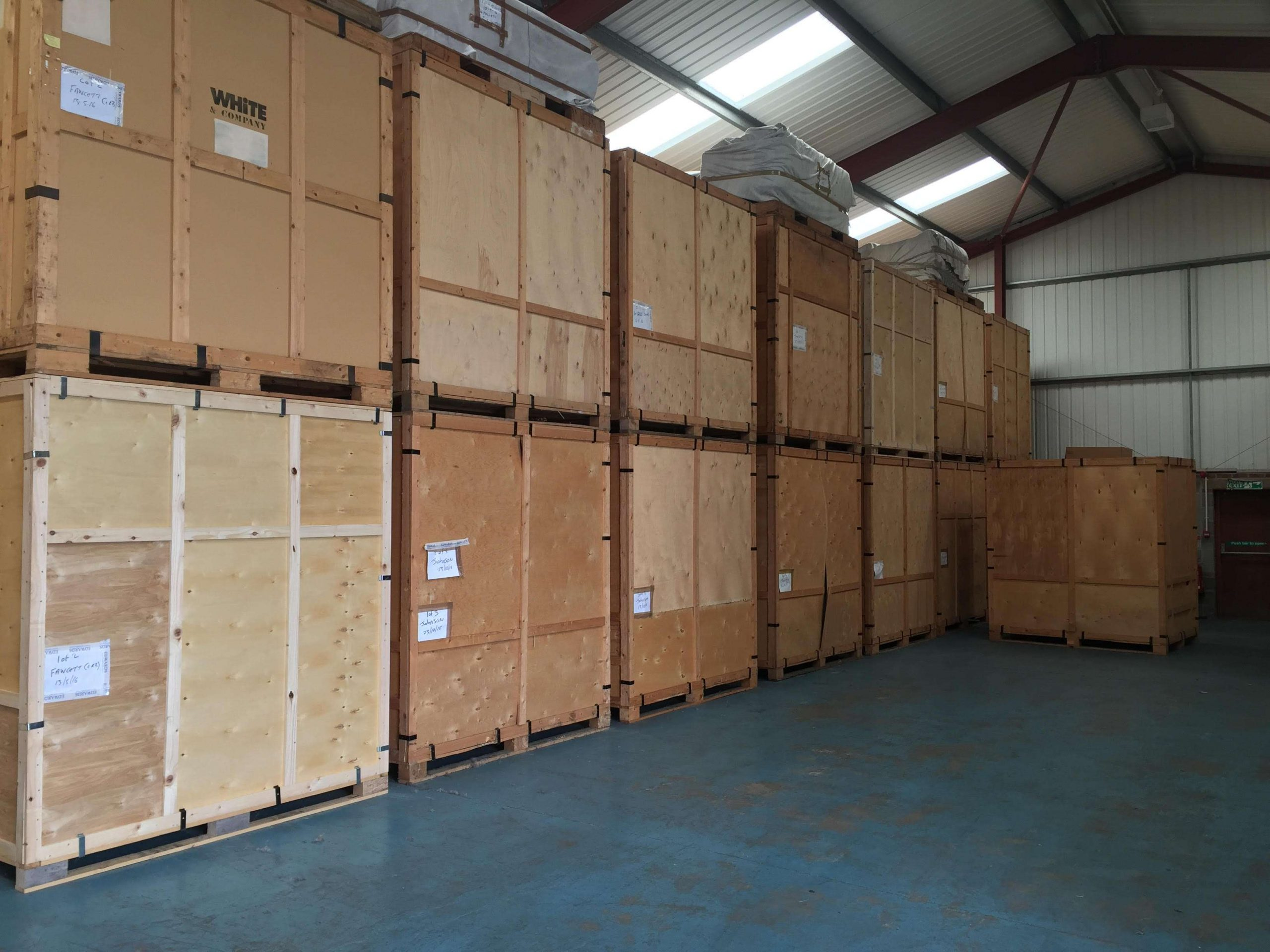 Taylors Removals & Storage a storage company in Unit F Valley Road Wombwell S73 0bs, Barnsley, UK