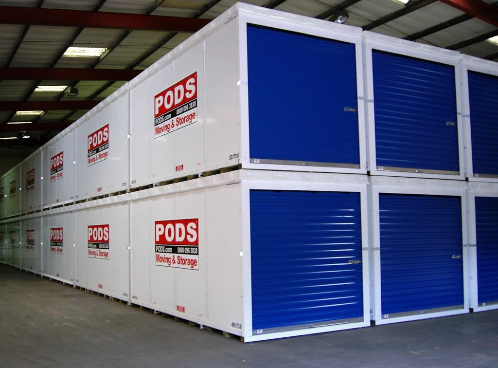 PODS Moving and Storage a storage company in Bennett Street, Manchester, UK