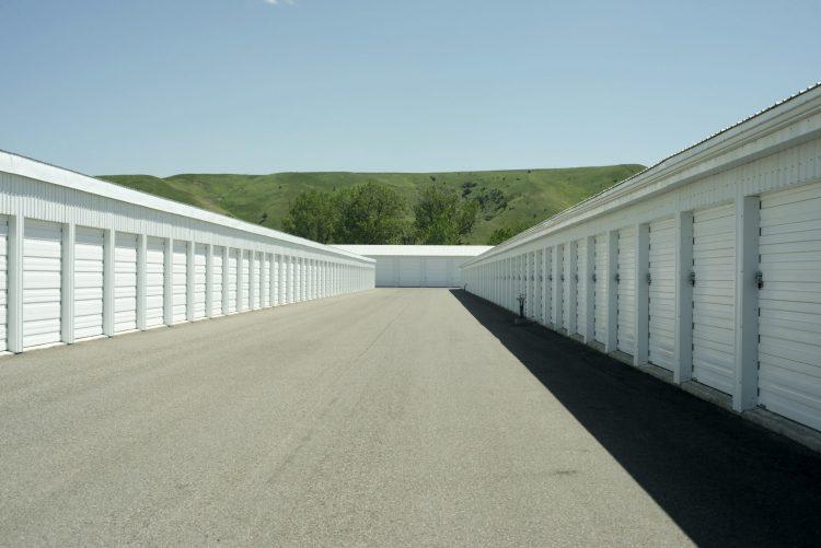 self storage facility outdoor