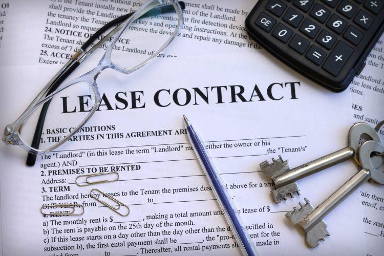 written lease